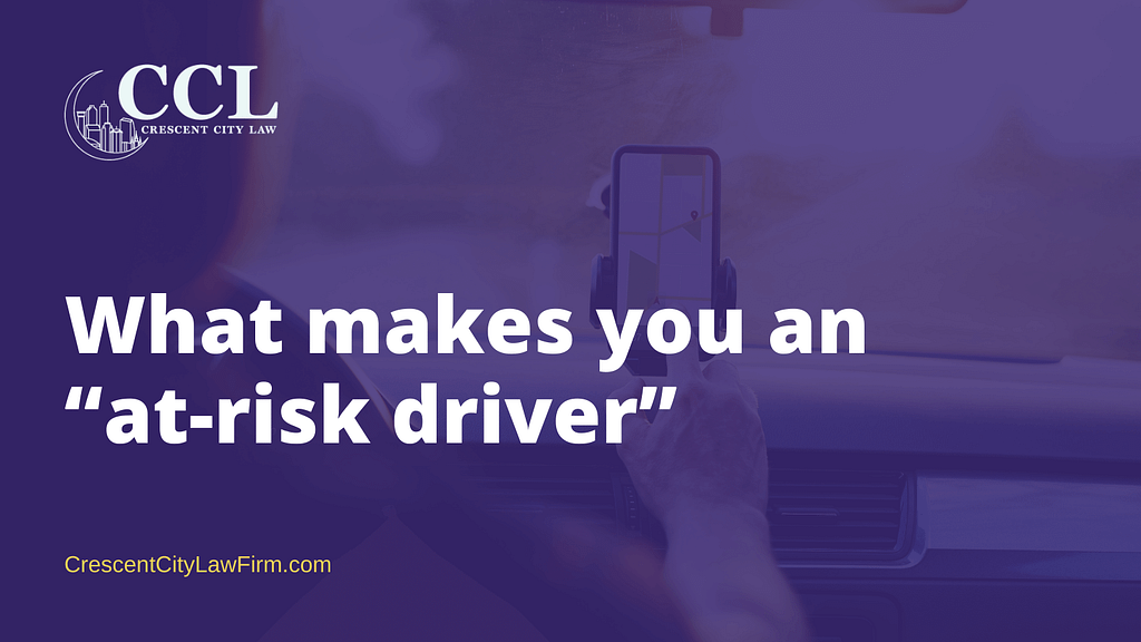"""What makes you an """"at-risk driver"""" 