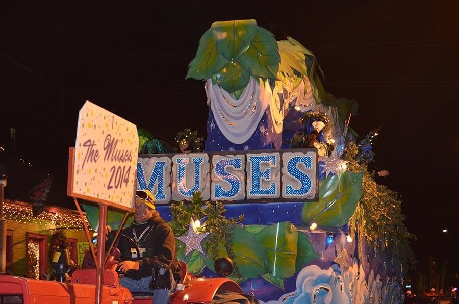 Mardi Gras Muses Parade